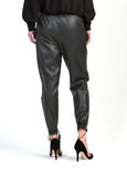 Leather Pants in Charcoal