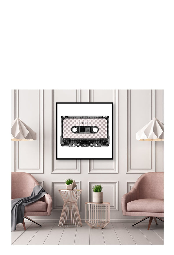 Gucci Cassette Pink