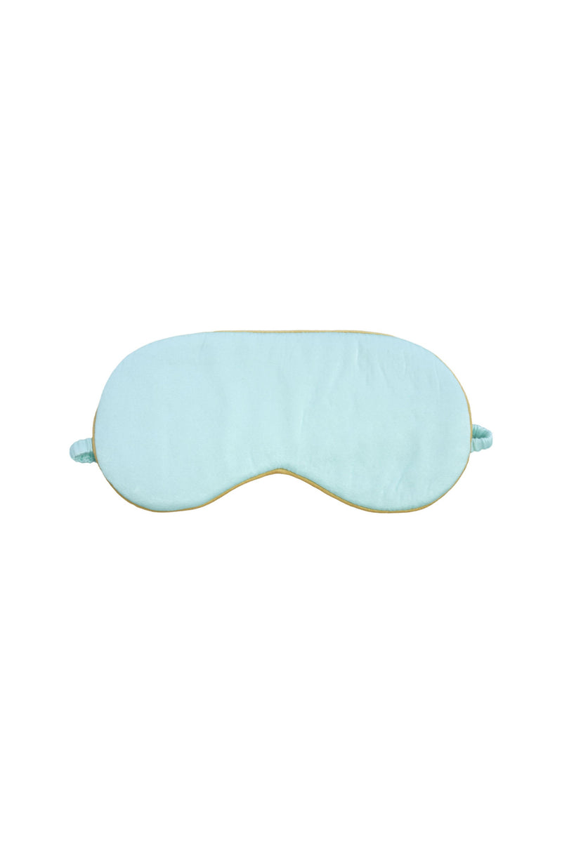 Seraphina Silk Eye Mask in Mint