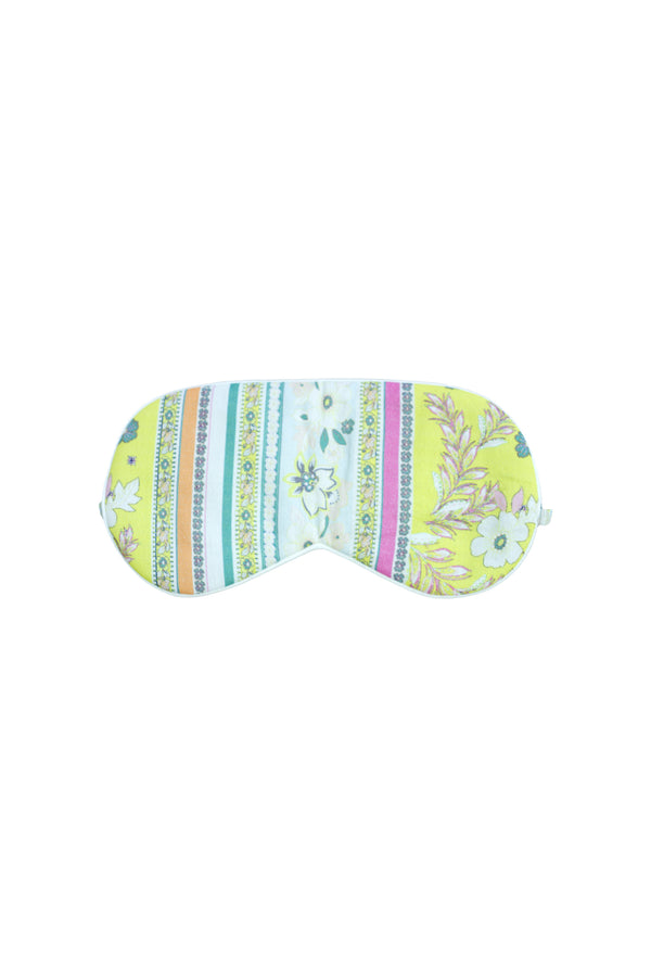Rosebud Yellow Eye Mask