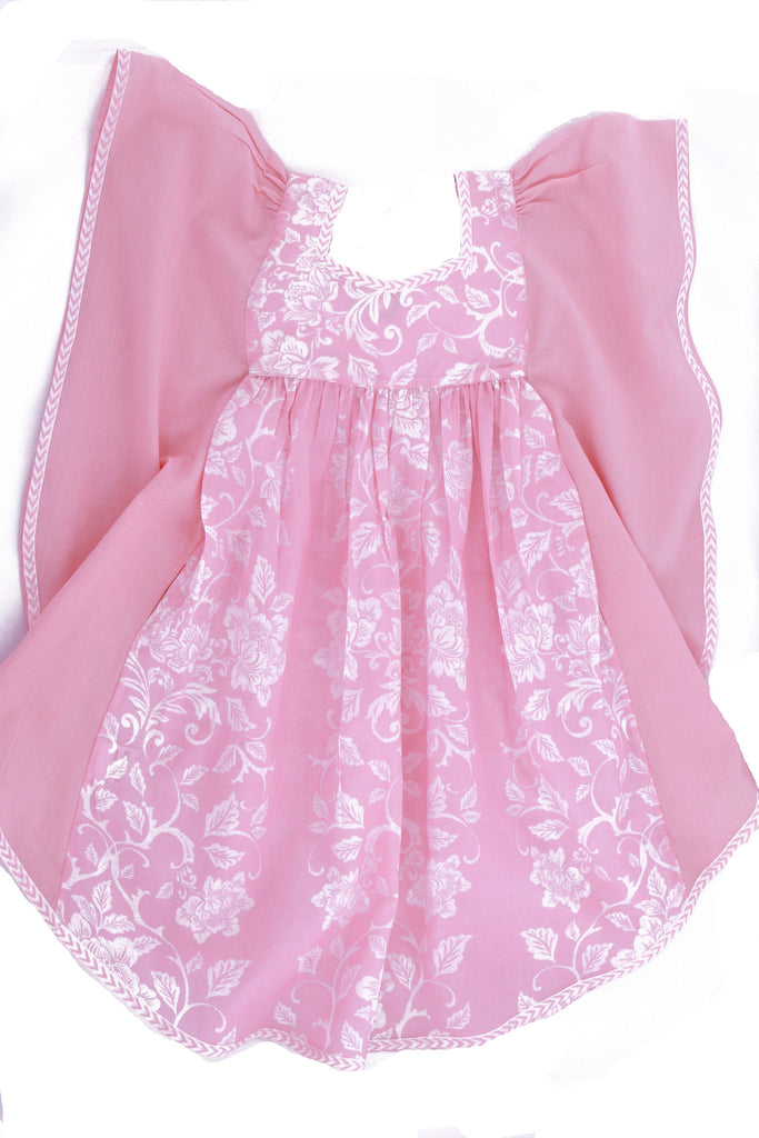 Girls Tigris Dress in Asian Fusion Pink