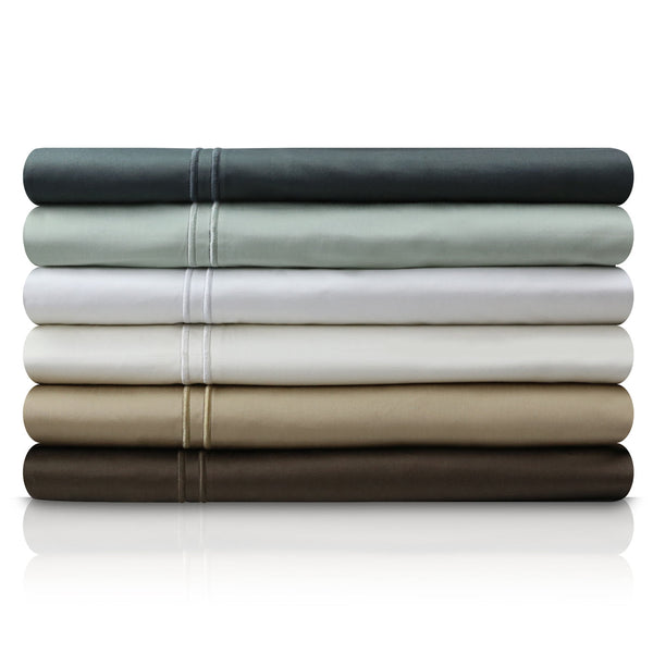 Malouf Fine Linens 600TC Egyptian Cotton Sheet Set