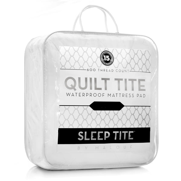 Malouf Sleep Tite Quilt Tite Waterproof Mattress Protector