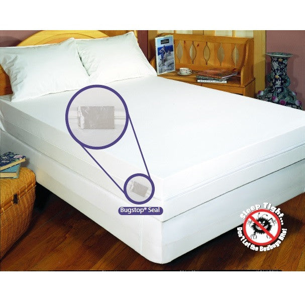 Bargoose Home Textiles Bedbug Solution Stretch Fit Mattress Boxspring Protector