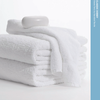 Standard Textile Classic Dobby Economy 5 PC White Hand Towel Set