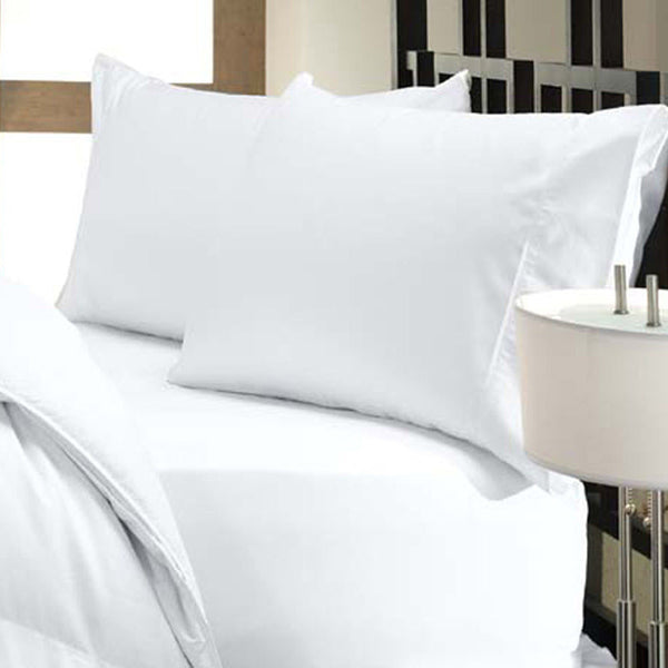 Downlite Cool Touch Tencel Lyocell White Sheet Set