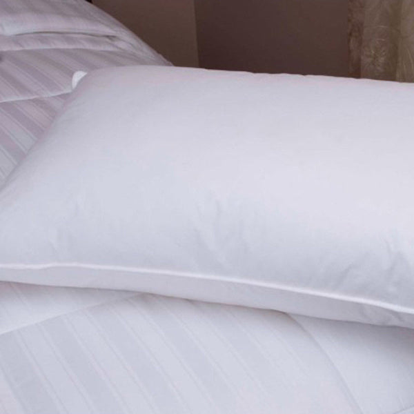Downlite Hotel 20/80 White Duck Down & Feather Blend Pillow