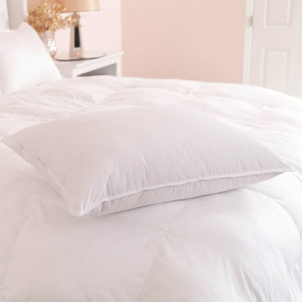 Downlite Hotel White Duck Down & Feather Chamber Pillow