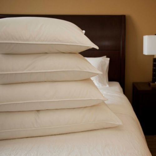 Downlite Hotel White Goose or Duck Down 550+ Fill Power Pillow