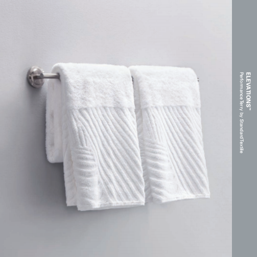 Standard Textile Elevations Abstract Pattern 3 Hotel Bath Towel Set