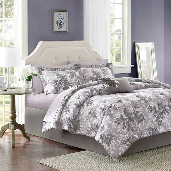 Madison Park Essentials Shelby Comforter Bed and Sheet Set