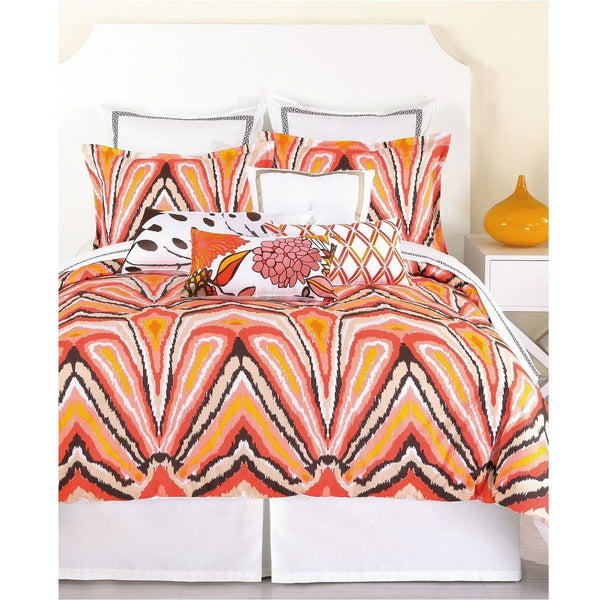 Trina Turk Peacock Punch Comforter Pillow Sham Set