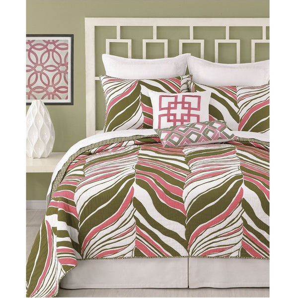Trina Turk Tiger Leaf Standard Pillow Sham