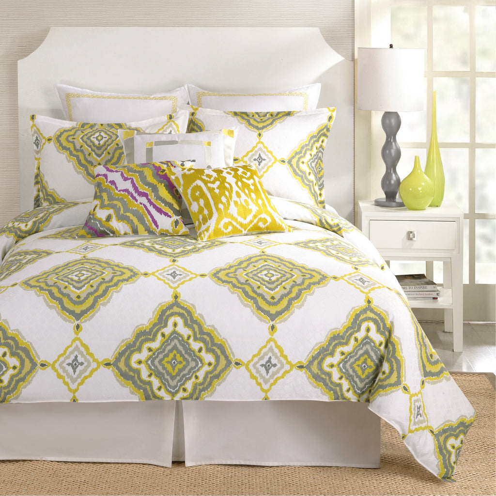 Trina Turk Twiggy Ikat Duvet Cover & Pillow Sham Set