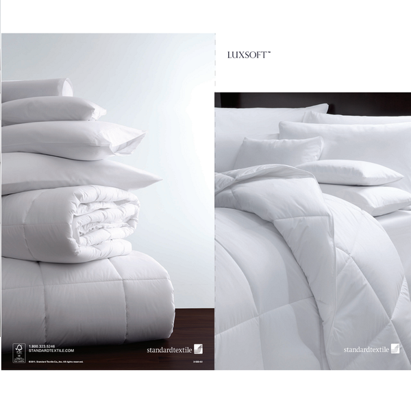 Standard Textile LuxSoft Luxury Medium Down Alternative Comforter