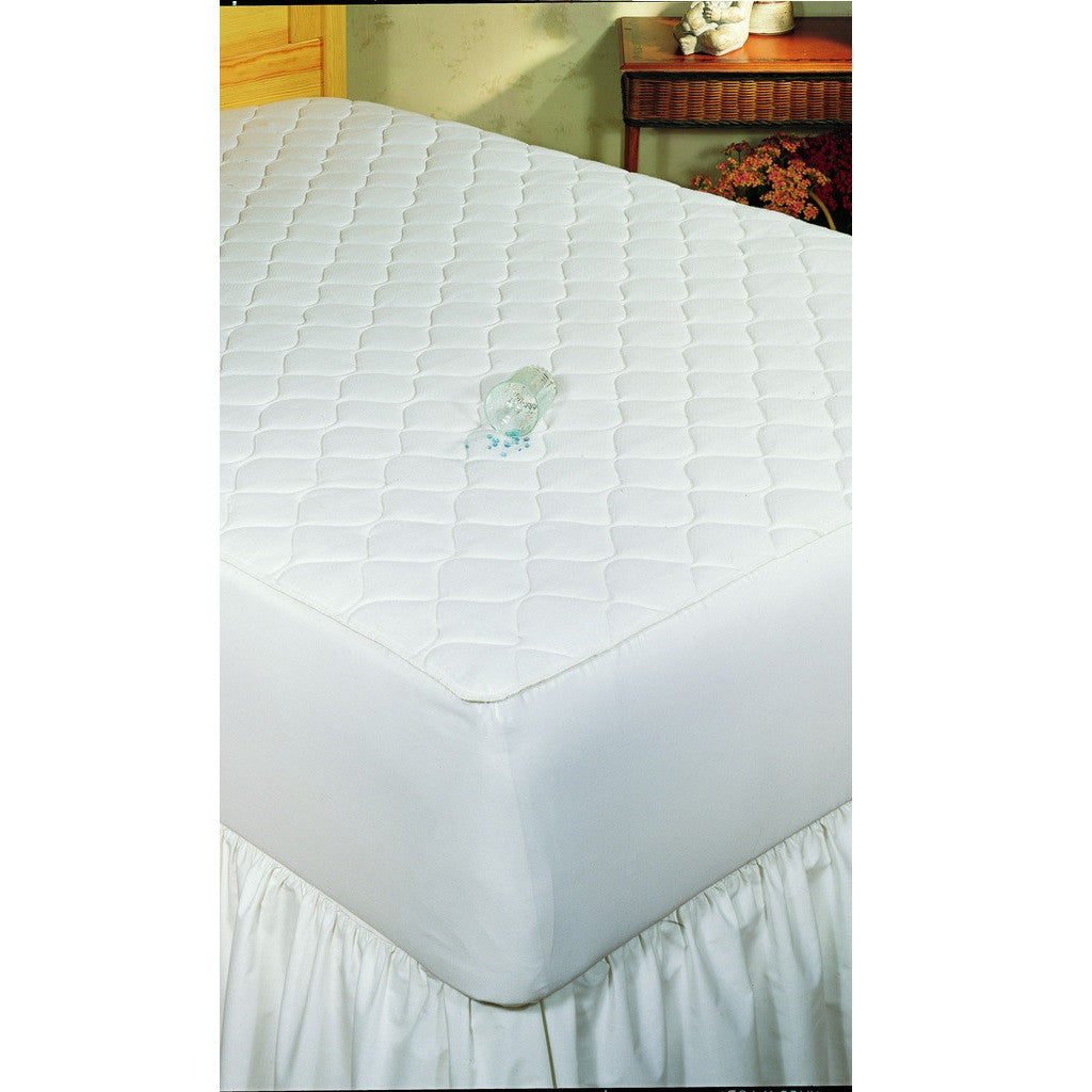 Bargoose Home Textiles Quilted 3-Ply Waterproof Stretch Fit Mattress Pad