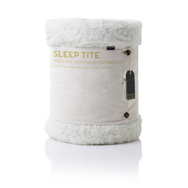 Malouf Sleep Tite Fine Wool Tite Mattress Protector