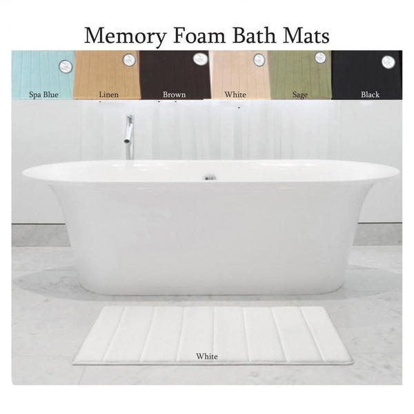Carnation Home Fashions Medium Memory Foam Bath Mat