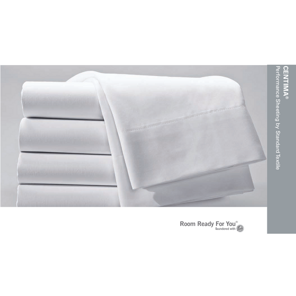 Standard Textile Centima Centium Core Hotel Oversized White Sheet Set