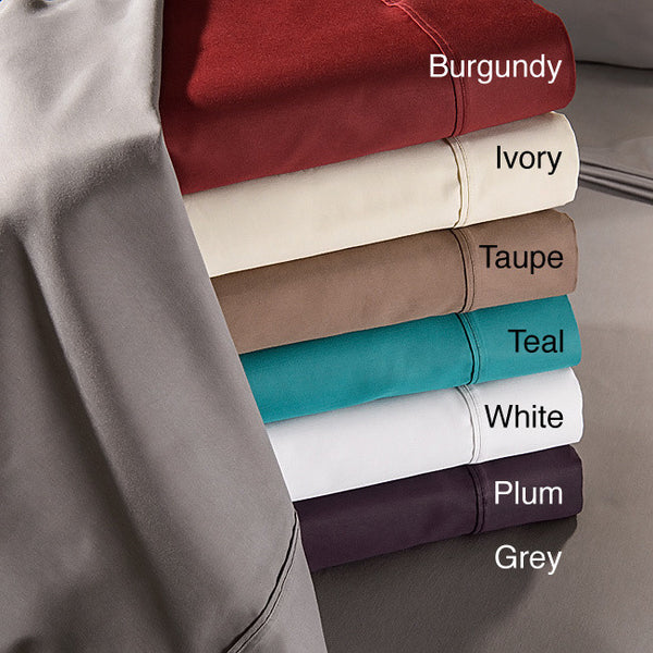 Luxor Treasures 800 Thread Count Cotton Rich Solid Sheet Set