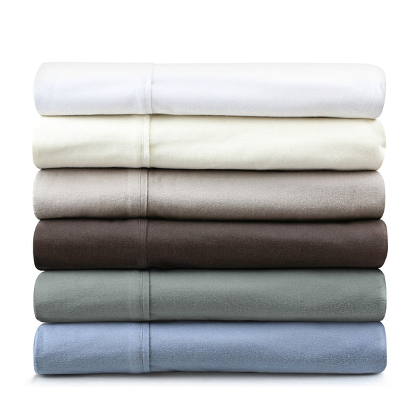 Malouf Fine Linens Flannel Sheet Set