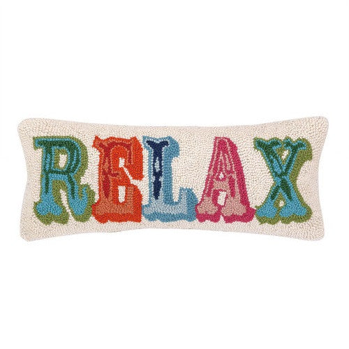Peking Handicraft Relax 8x20 Hook Pillow