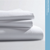 Standard Textile T-200 Classic Percale White Flat Sheet