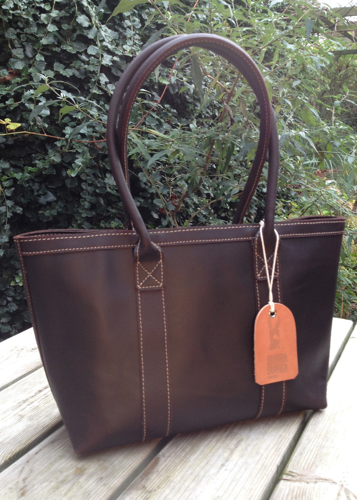 Tote rundleer medium