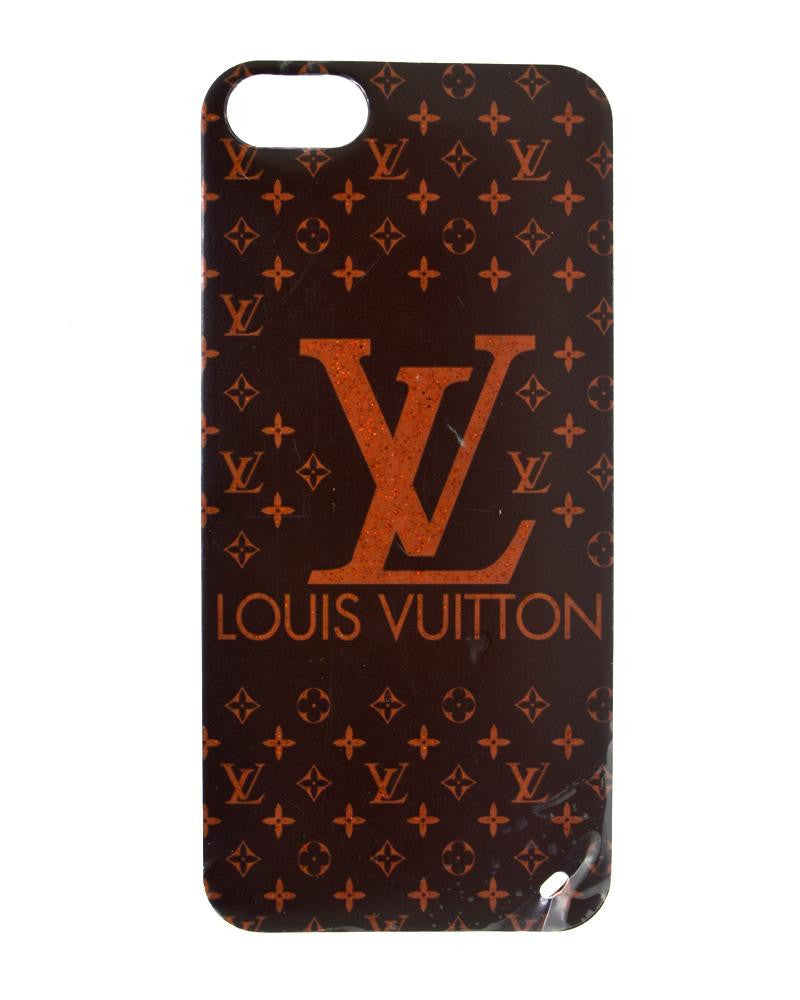 Louis Vuitton Design Soft Silicone Rubber Mobile Cover for iPhone 5/5s