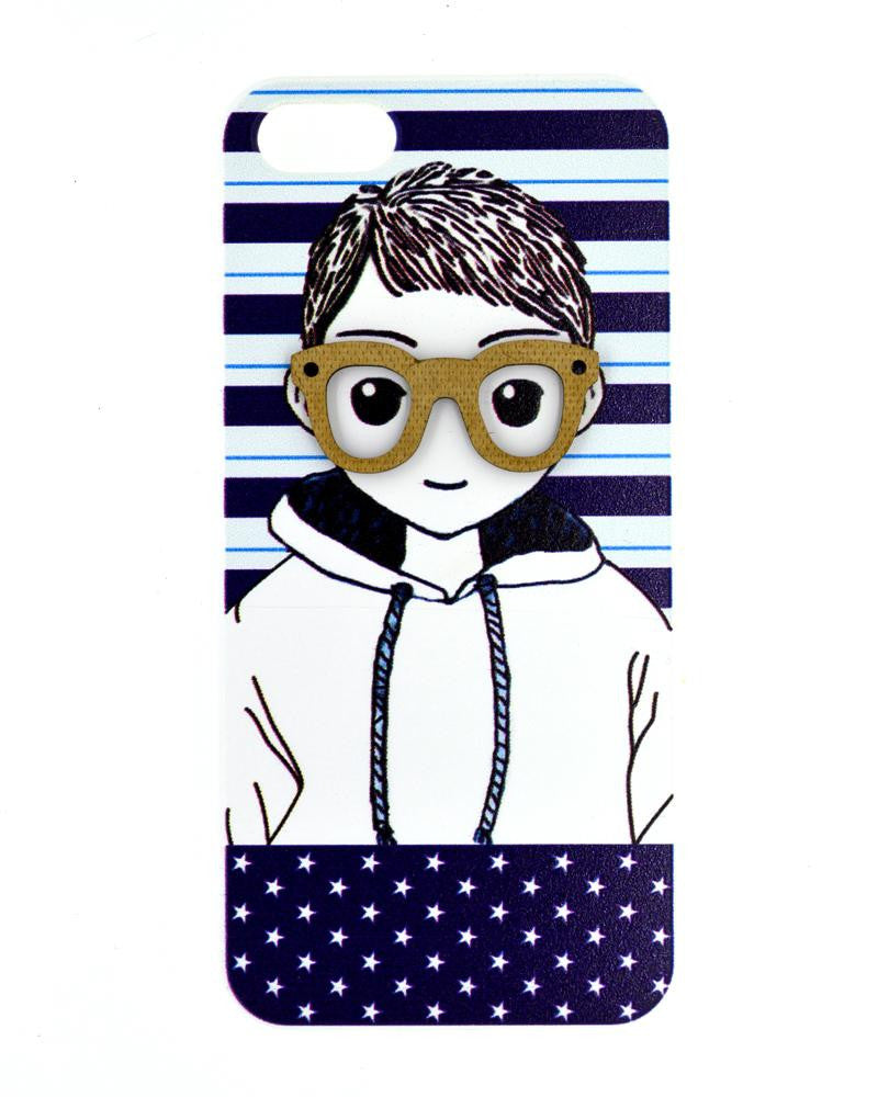 Smiling Innocent Boy Mobile Cover - Back Cover for iPhone 5/5s