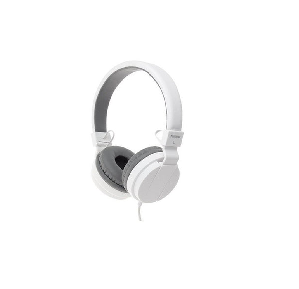 Foldable Wired Stereo Headphone with Mic for Mobiles & Computers
