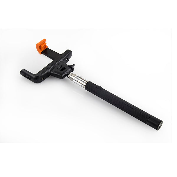 Monopod With Inbuilt Bluetooth Clicker For Selfie Lovers Suitable For Apple & Android Mobile Phones