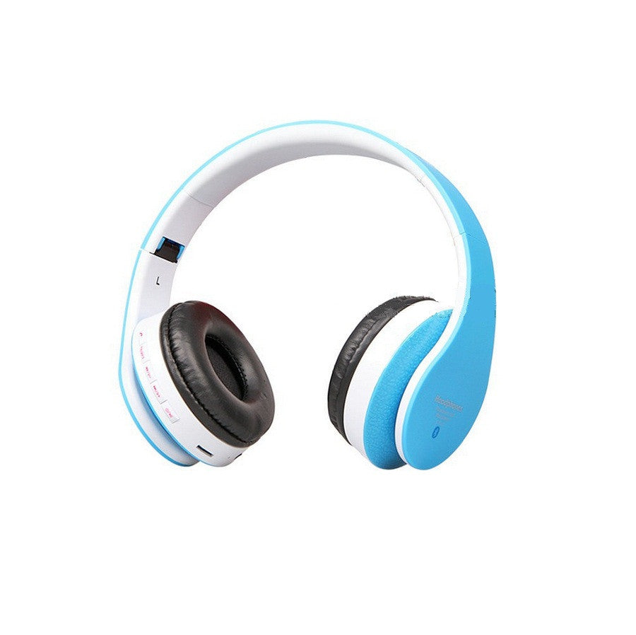 High Bass Bluetooth Stereo Headphones with FM, MP3 Player & Micro SD for Mobiles & Laptop