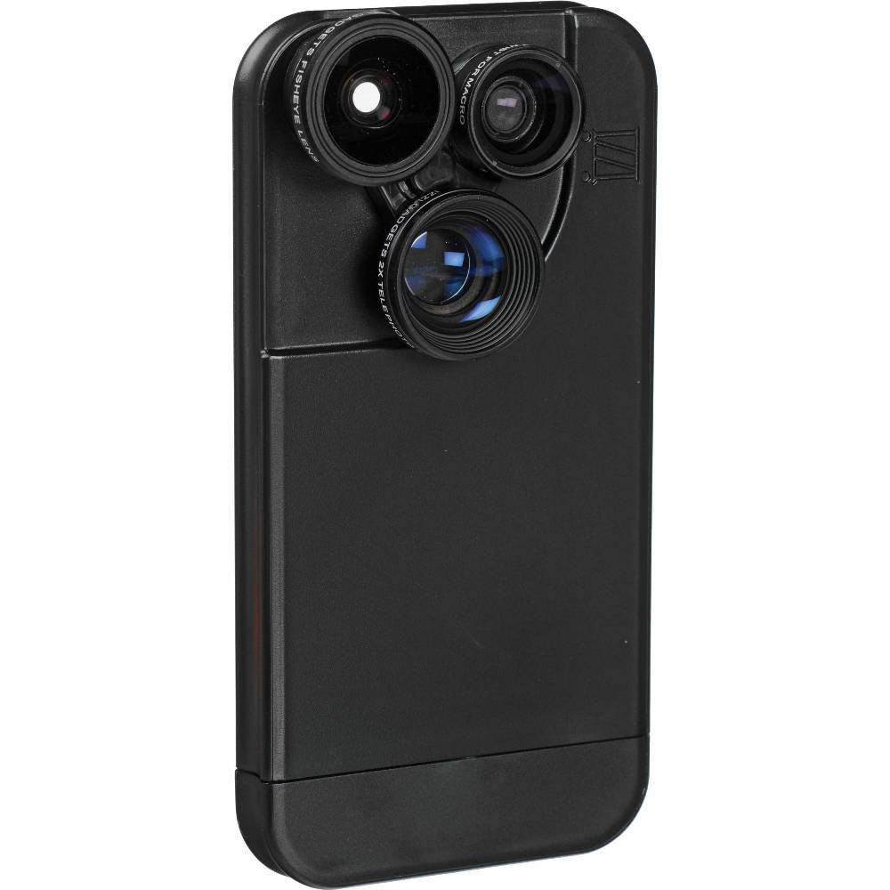 3 in 1 lens for iPhone5 with case