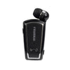 Two Mobile Pairing Wireless Clip Type Retractable Stereo Bluetooth In-Ear Headset