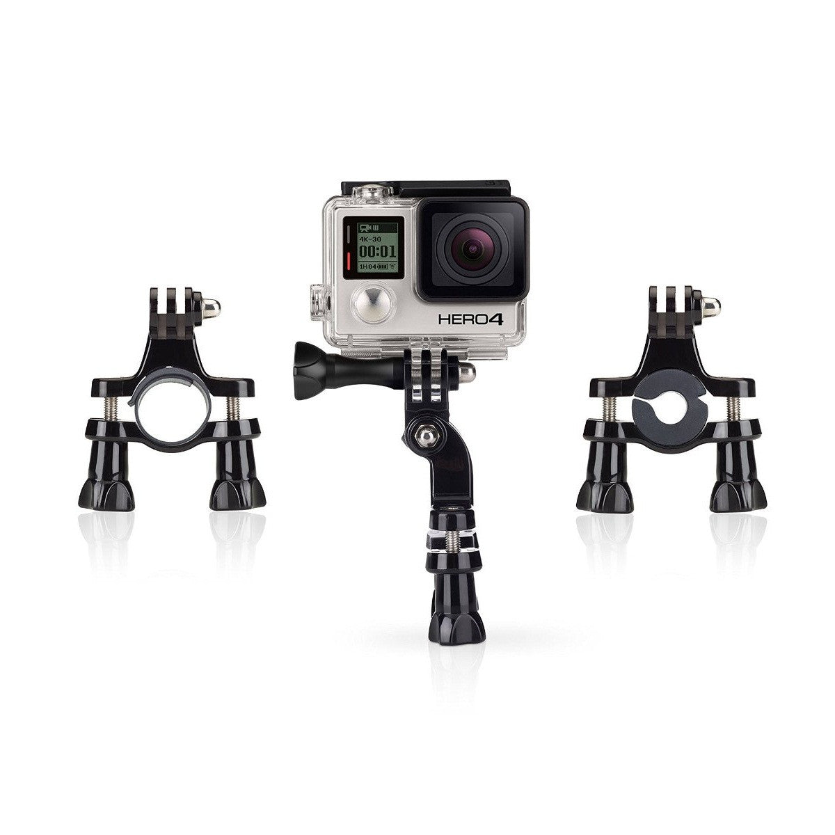 Handlebar Pole Bicycle & Bike Mount For GoPro , SJCAM, Yi | Mobilegear