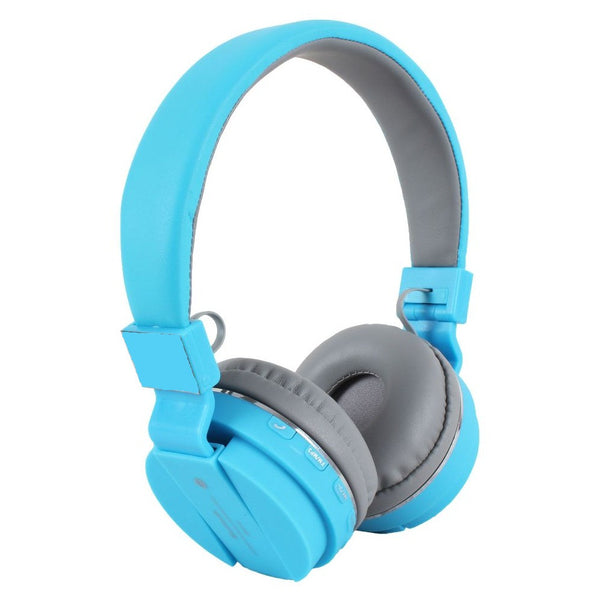 SH12 High Music Wireless Bluetooth Headphones With FM Micro SD Card Slot & AUX Input