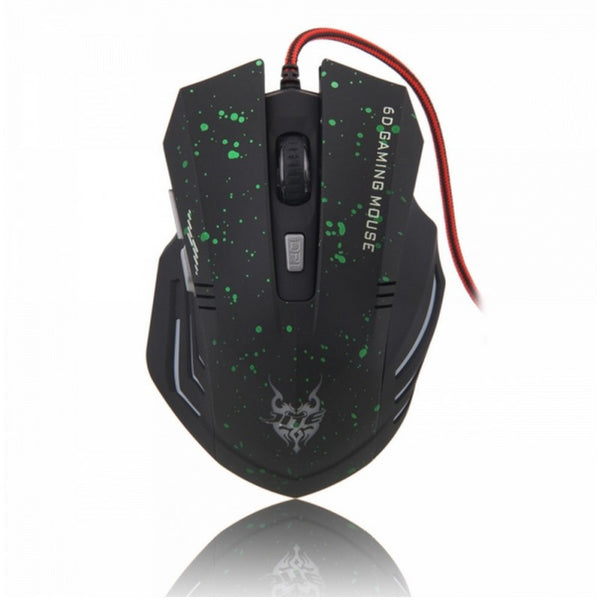 USB Gaming Mouse for PC & Laptop Gamers with copper shield anti-signal interface