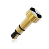 3.5mm Universal Infrared Remote Controller Jack Plug for Apple iPhone & iPad - Golden
