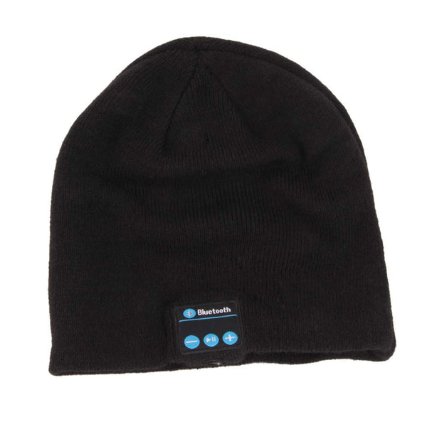 Cap Shape Beanie Hat Wireless Bluetooth Headset