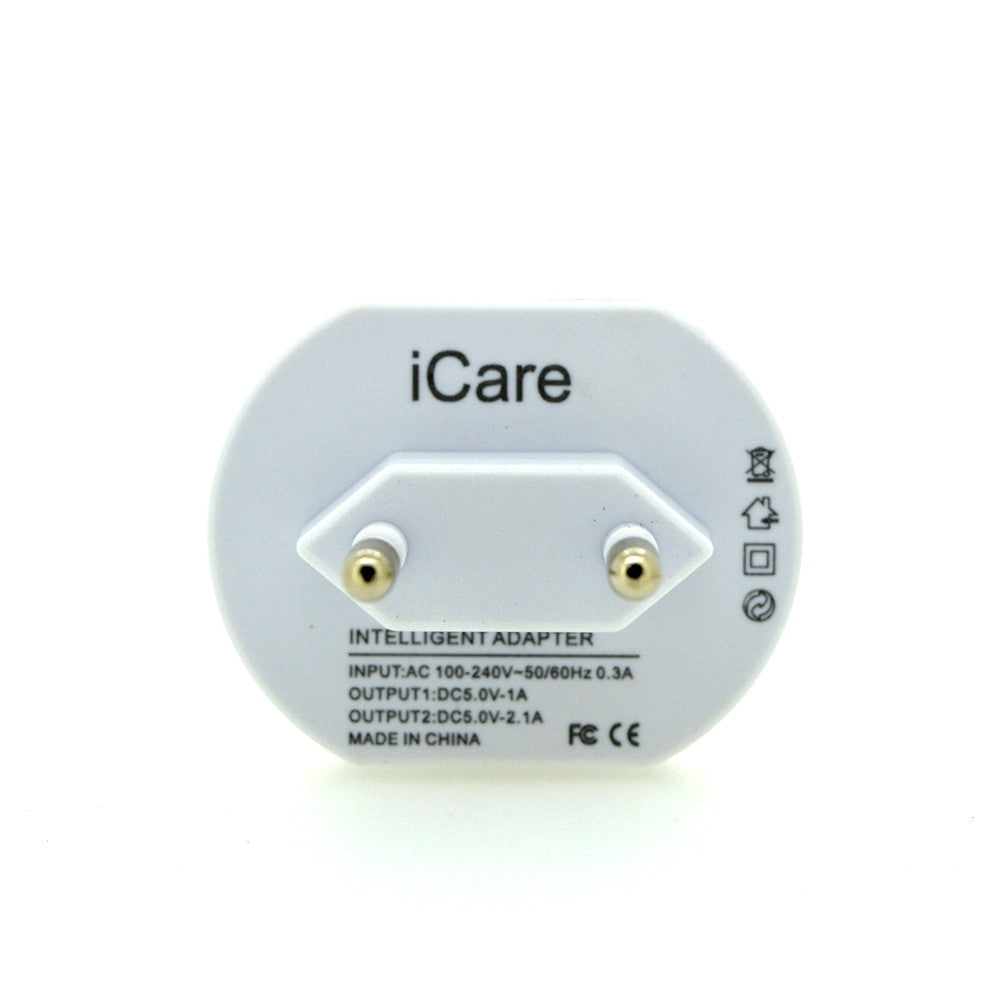 Mobile Charger cum USB Power Adapter for most Mobile Electronics Devices