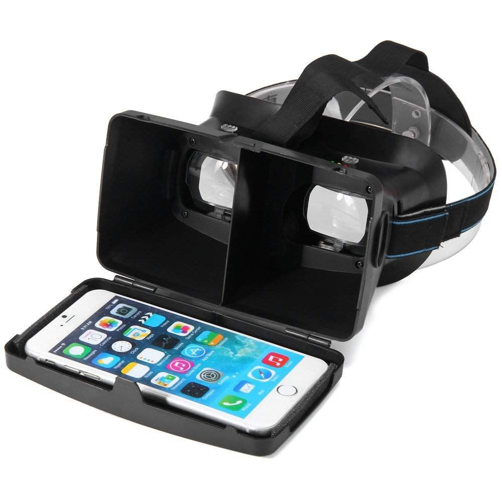 Virtual Reality 3D Glasses Card Board | Mobilegear.in