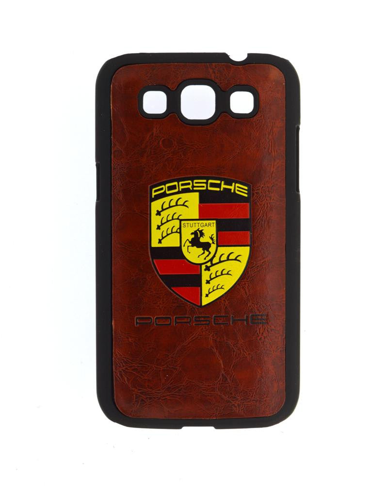 Designer Porsche Style Mobile Cover for Samsung Galaxy Win i8552-BROWN