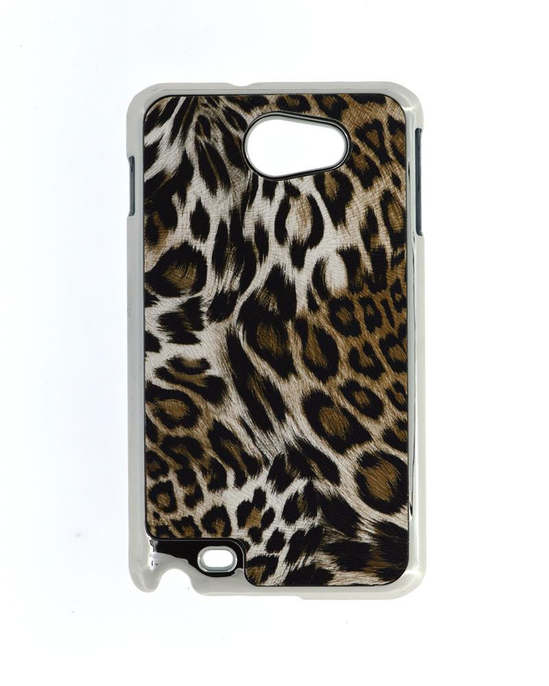 Leopard Skin Design Hard Mobile Cover for Samsung Galaxy Note N7000