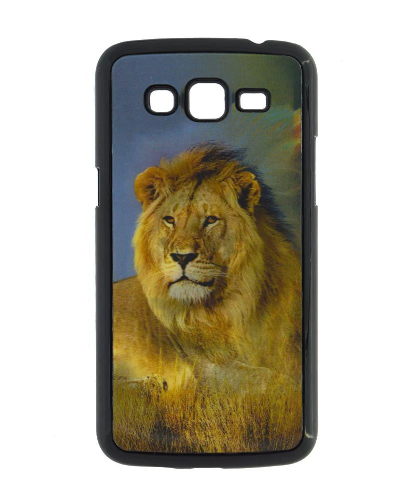 Unique Lion Design Hard Mobile Cover for Samsung Galaxy Grand 2 g7106