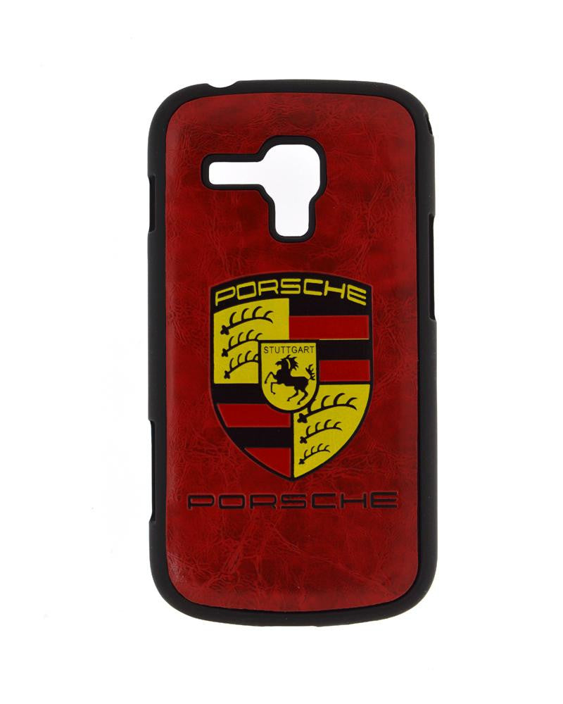 Designer Porsche Style Mobile Cover for Samsung Galaxy S Duos 7562-MAROON
