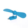 Mini Portable 8 Pin Lightning Mobile Fan For iPad iPhone 5/5s/6/6S/6 Plus - Blue