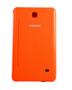 Tri-Fold Flip Book Stand Cover for Samsung Galaxy Tab 4-ORANGE