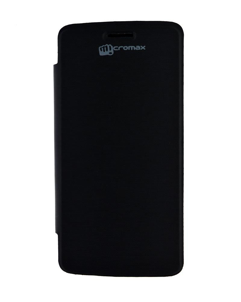 Flip Cover for Micromax Canvas Elanza 2 A121 - BLACK