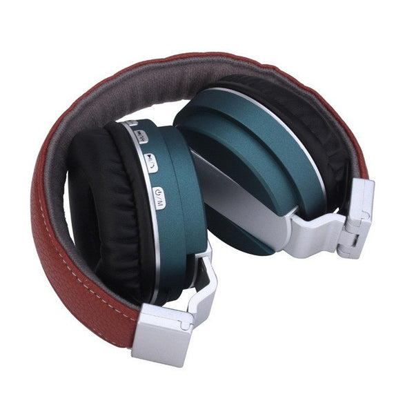 High Bass Wireless Bluetooth Headphone With FM Micro SD Card Slot & AUX Input